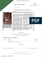 1107_ READING BOGOTA INTERNATIONAL THEATER FESTIVAL ( I )