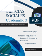MÓDULO 2.2 BANCO DE PREGUNTAS SENESCYT CIENCIAS SOCIALES