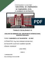 AEROPUERTOS ESCALONADO