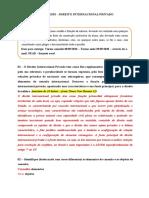 1 - ATIVIDADES - DIPr - TEORIA GERAL - ELEMENTOS DE CONEXÃO - LIMITES (1)