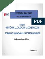 clase 7 FORMULAS POLINOMICAS Y APORT UNITARIO