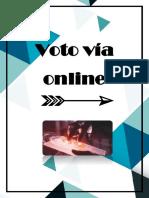 Como Votar Desde La Comodidad de Tu Casa