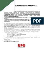 Opuscolo Screening Ipertensione