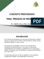 PRESFORZADO-PERDIDAS DE PRESFUERZO 5 LP.pptx