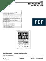 SP-303 Service Manual