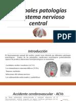 Principales patologías del sistema nervios