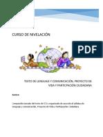 ICA TEXTO DE LENGUAJE, PROYECTO DE VIDA 2019