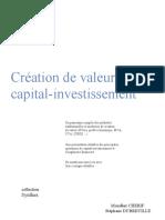 creation de valeur