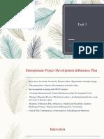 businessplanningunit3-innovation and creativity