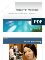 Instilling Morality in Machines