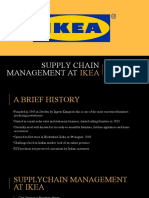 Supply Chain Management at IKEA