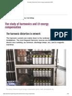 The study of harmonics and LV energy compensation _ EEP