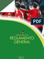 REGLAMENTO FUTBOL REAL FEDERACION ESPAÑOLA DE FUTBOL