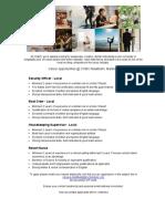 Job Advert - 02.12.2020