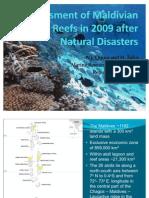 Coral Reef Status in 2009 Maldives Reefs