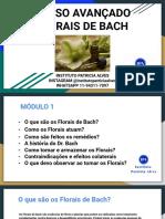 Curso Avançado Florais de Bach - Módulo 1