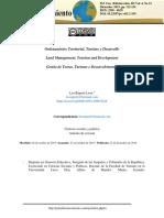 Ordenamiento territorial, Turismo y desarrollo