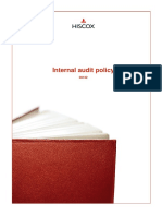 Internal audit policy
