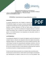 Documento de Trabajo Metodología de La Fotonovela