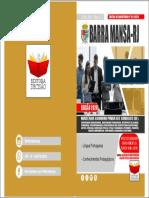 CAPA BARRA MANSA-RJ 2020 - COMUM PARA OS CARGOS DE PROFESSOR