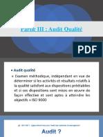 Audit Qualité Partie 3