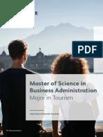 Brochure Tourism