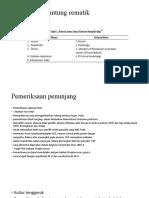 penyakit jantung reumatik dx dan pp