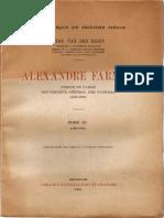 Alexandre Farnèse, Vol. III (1582-1584)