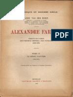 Alexandre Farnèse, Vol. IV