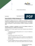 dgidc - Ofício-circular_ofc-dgidc.2011.2 - art22_estatuto_aluno; 2011.fev.11