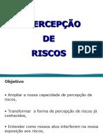 Treinamento Percepção de Riscos.ppt