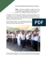 Manifestación cultural La Llora declarada Bien de Interés Cultural de la Nación por el IPC