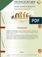 1 ORIGEN Y EVOLUCION  DE LA ADMINISTRACION