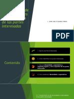 NECESIDADES Y EXPECTATIVAS DE PARTES INTERESADAS