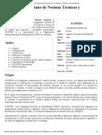 Instituto Colombiano de Normas Técnicas y Certificación - Wikipedia, la enciclopedia libre