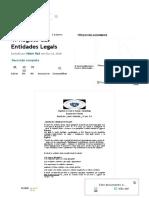 4. Registo das Entidades Legais _ Informação Governamental _ Política