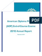 Achieve's American Diploma Project End-of-Course Exams