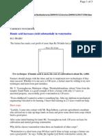 Humic acid in Watermilan