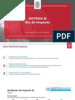 Apresentação Pedro Augusto - Sistema B
