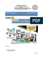 Module 5 - Media and Information Sources