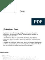 opérations Lean
