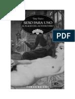 Betty Dodson - Sexo para uno, El placer del autoerotismo.pdf