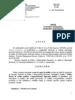 Anunt REINCADRARE   1 post  agent  OP  S7 2018