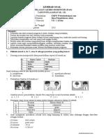 Soal PAS IPA Kelas 7 K13 - websiteedukasi.com