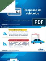 Traspasos de vehiculos y gestiones