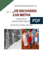 Cuadernos de Mitología nº 23 LO QUE ESCONDEN LOS MITOS.
