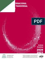 Formación Transversal Doctorado 2020-2021