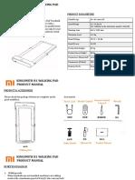 Mi R1 Walking Pad Product Manual
