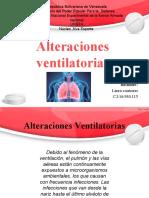 Alteraciones Ventilatorias