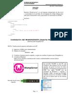 Toeria - 06 -Ejercicios  - Introduccion PHP - I